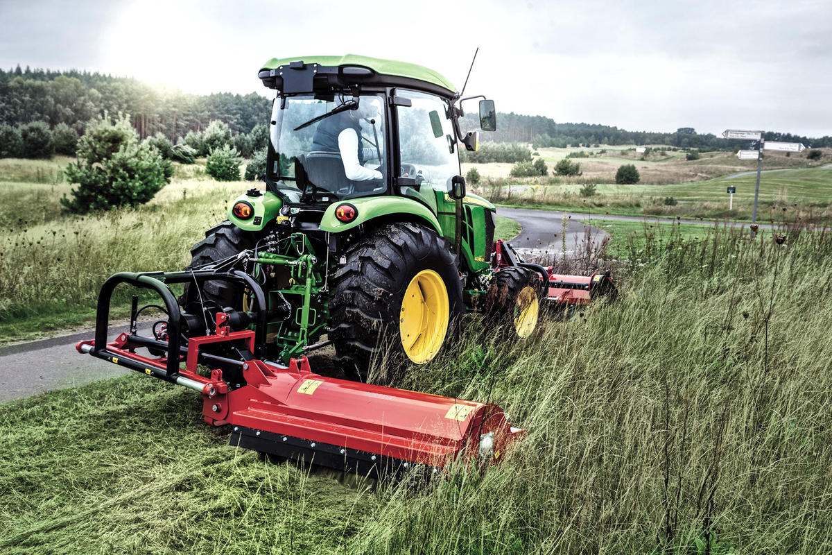 John Deere 100 Series >> John Deere tractors: all the new features of the 3R and 4R Series