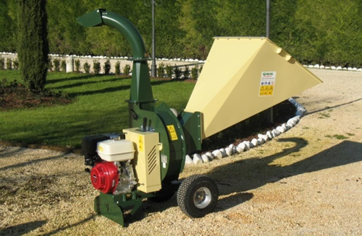 Bioshredders And Chippers Economic Management Of Biomass