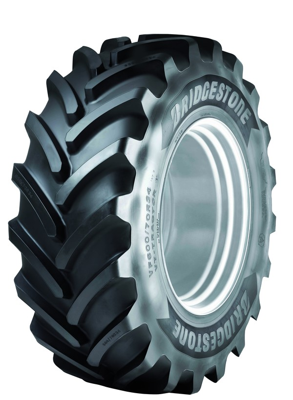 New agricultural tires signed by bridgestone for Big tractor tires for free