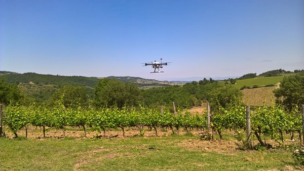 Drone-Bee event, flying agriculture