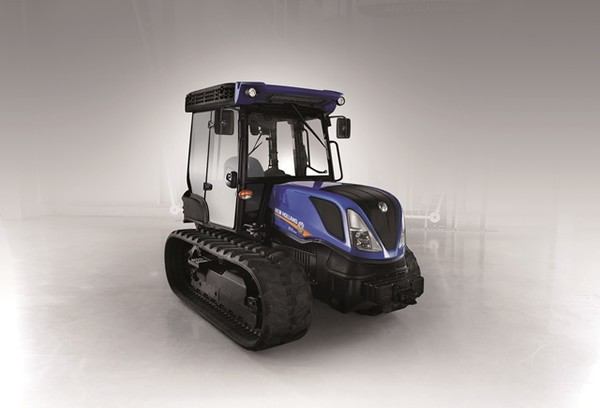 Comfort and safety of the New Holland TK4