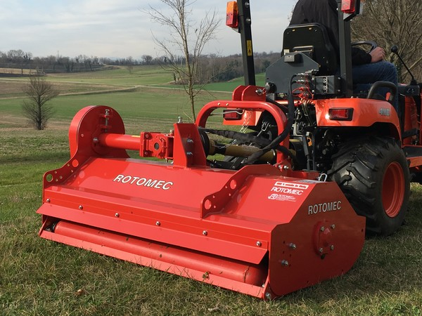 Hurricane H40S: all the qualities of the Rotomec flail mower