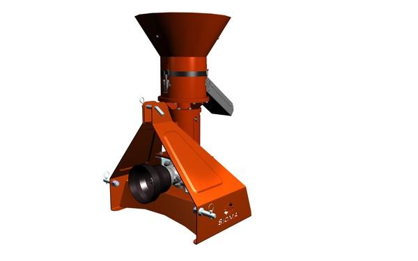 Nuovi sistemi sicma per trinciatura cippato e pellet for Impianto produzione pellet usato