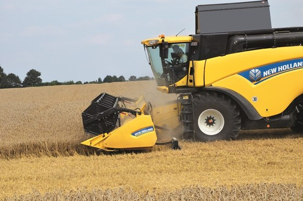 Combines: all that's new from New Holland